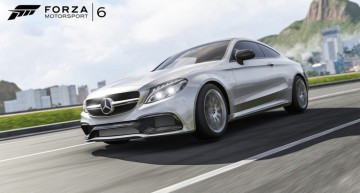 Mercedes-AMG C 63 S Coupe apare în Forza Motorsport 6 pe Xbox One