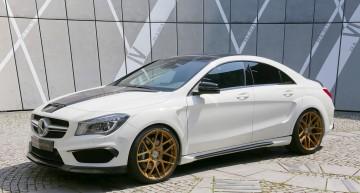Gata de petrecere – Mercedes-Benz CLA 45 AMG tunat de Loewenstein