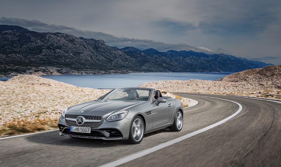 Noul Mercedes-Benz SLC 2016 – Povestea merge mai departe. FOTOGRAFII ȘI VIDEO