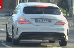 Mercedes CLA Shooting Brake facelift iese iar la joacă