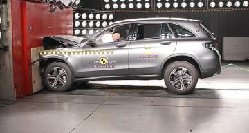 Cinci stele pentru Mercedes GLC la testul Euro NCAP (with video)