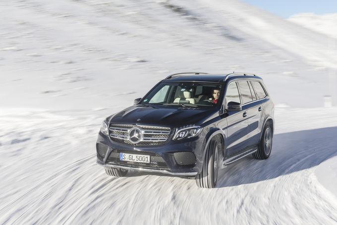 Primul test Mercedes GLS realizat de auto motor und sport