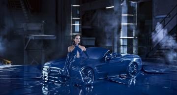 Construit pentru podium – Mercedes-Benz SL a ajuns la Săptămâna Modei de la Berlin