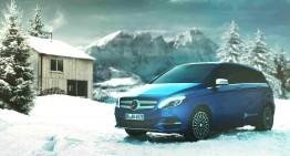 Liniște! Mercedes-Benz B 250 e se apropie!