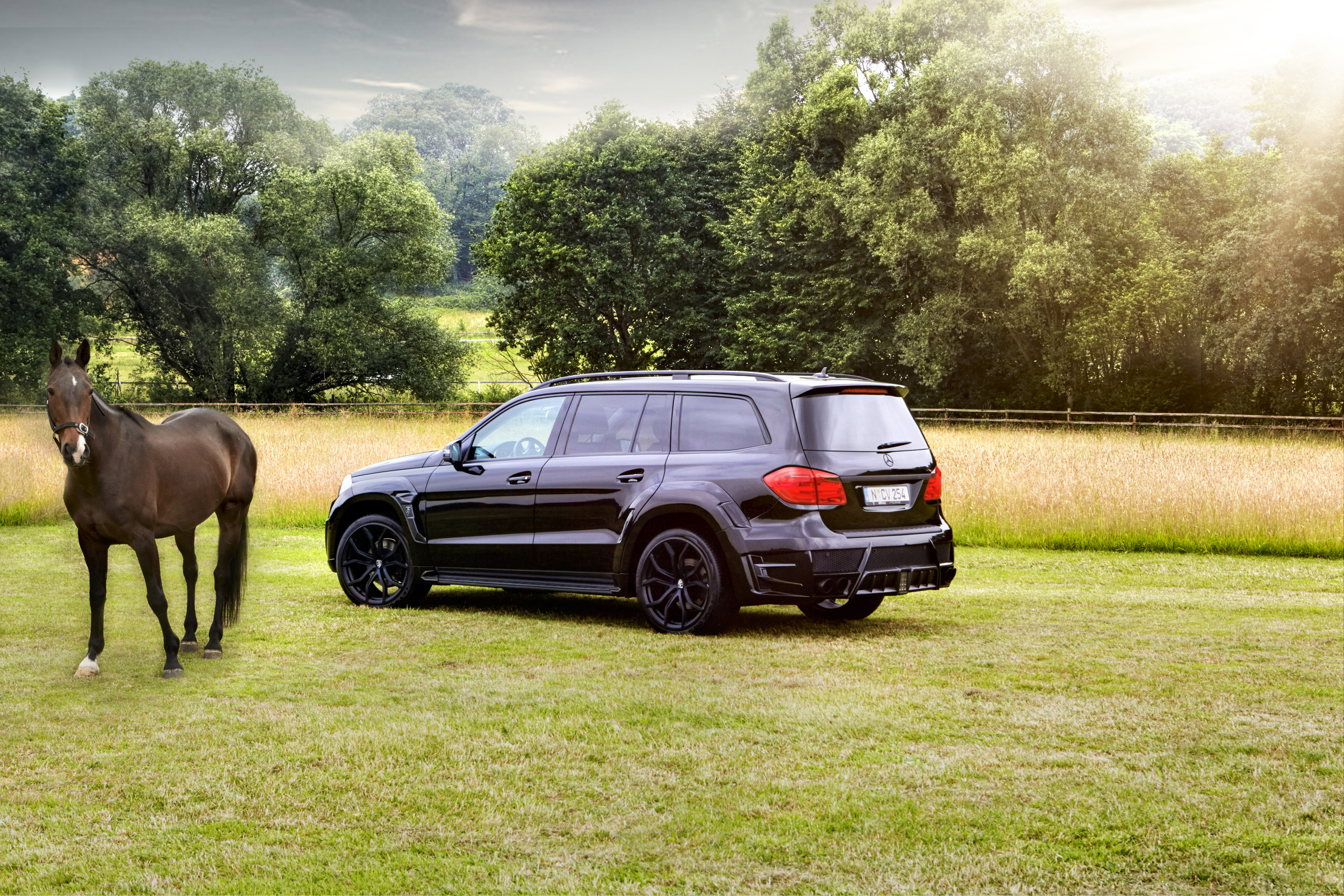 "LARTE Design Mercedes GL ""Black Crystal"""