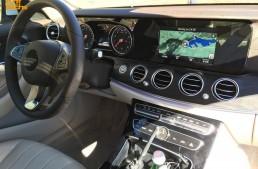 Mercedes E-Class 2017 și ceasurile sale analog