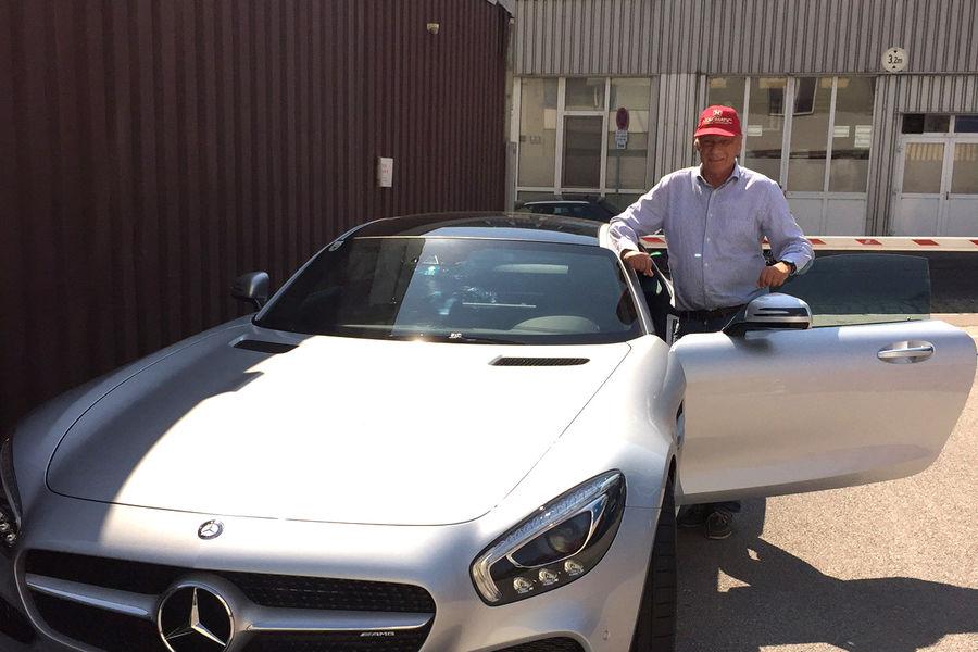 Garajul personal: legenda Formulei 1 Niki Lauda și pasiunea sa pentru Mercedes