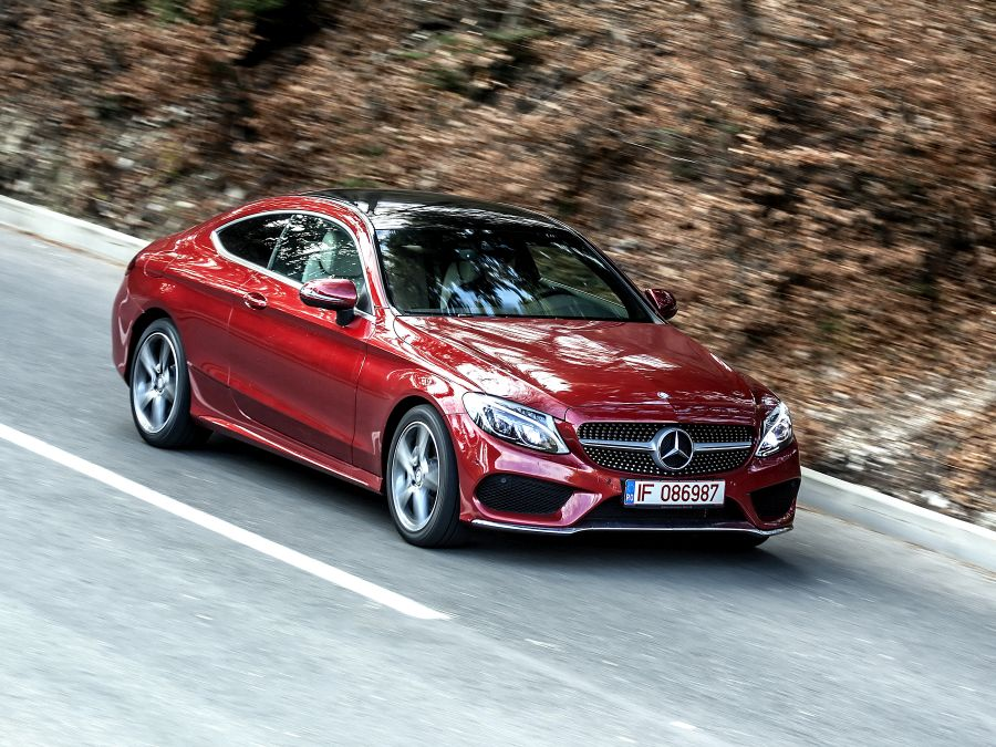 test Mercedes Clasa C Coupe (45)