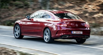 Primul test Mercedes C 200 Coupe