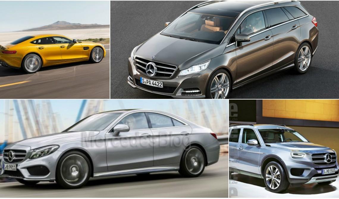 TOP 10 modele Mercedes noi, fără niciun predecesor