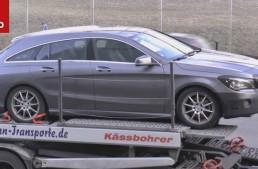 Mercedes CLA Shooting Brake 2017 primește un update (video)