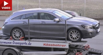 Mercedes CLA Shooting Brake 2017 primește un update (video)
