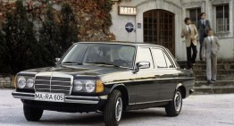 Mercedes-Benz W123 aniversează 40 de ani