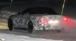 BMW Z5 spionat. Rivalul Mercedes-ului SLC iese la teste pe timp de iarnă