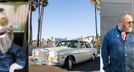 În jurul lumii cu o marionetă și cu un Mercedes-Benz 280SEL