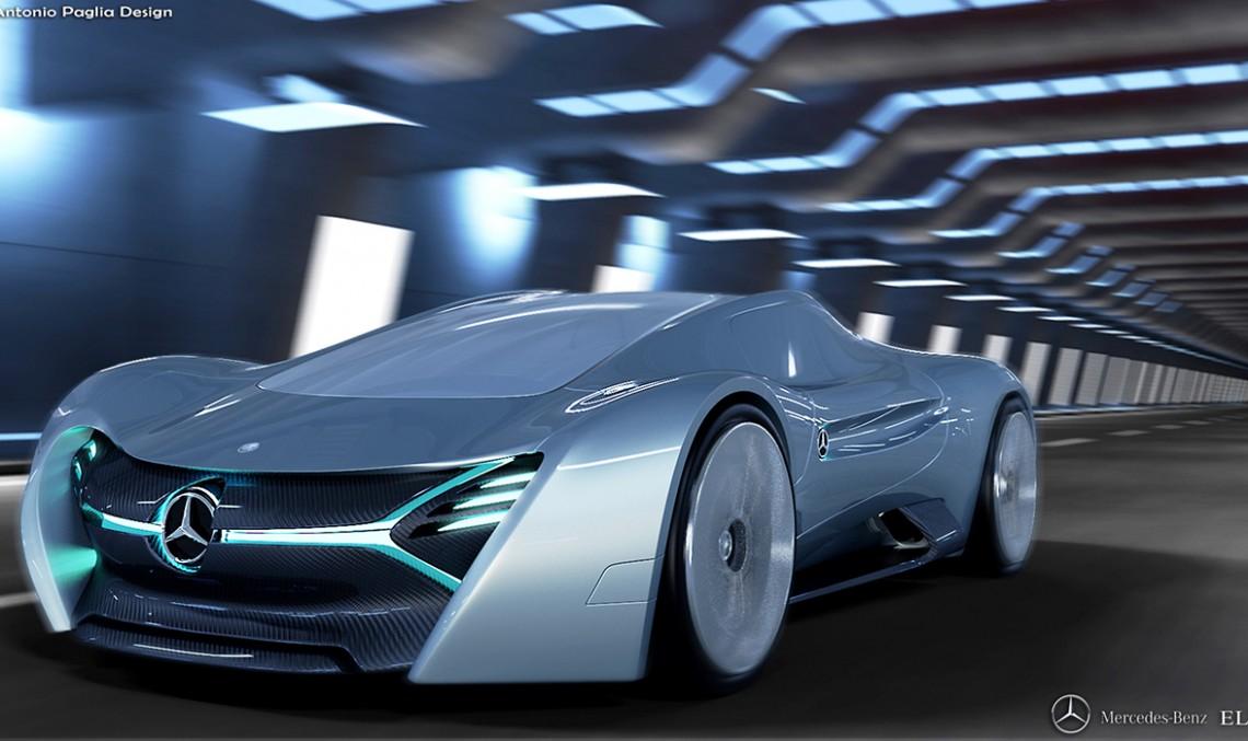 Supercarul electric Mercedes-Benz ELK – Imaginația nu are limite!