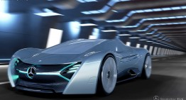 Supercarul electric Mercedes-Benz ELK – Imaginația nu are limite!