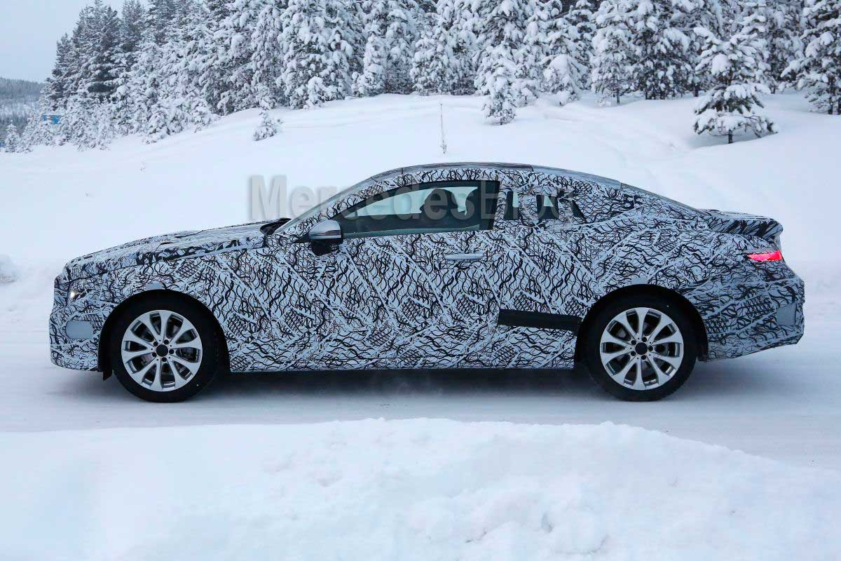 Mercedes-E-class-Coupe 2017