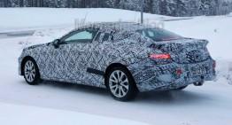 Spionaj: Mercedes E-Class Coupe 2017 pozează din nou