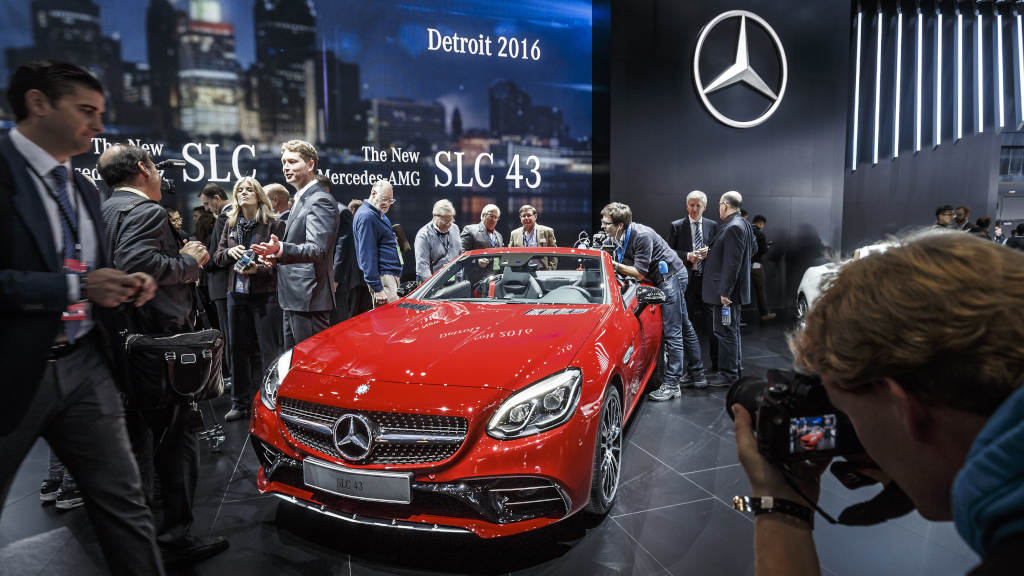 Mercedes-Benz at the NAIAS, Detroit 2016 mașini de vis