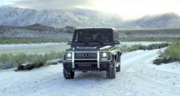 De la mare la munte cu un Mercedes-AMG G65