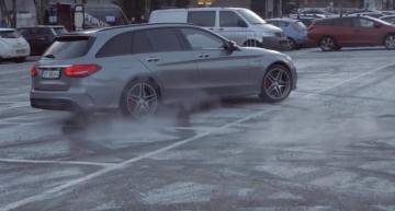 Bătrânel nebun bagă spaima în mecanicii de la Mercedes în cea mai tare farsă!