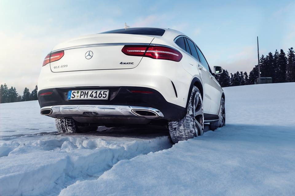 Winter Wonderland Mercedes-Benz 400 GLE Coupe (5)