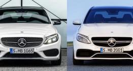 Mercedes AMG C 63 versus Mercedes C 450 AMG Sport 4Matic. Care sunt diferențele?