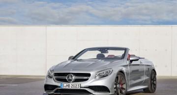 """S63 AMG Cabriolet """"Edition 130"""" aniversează venirea pe lume a automobilului"""