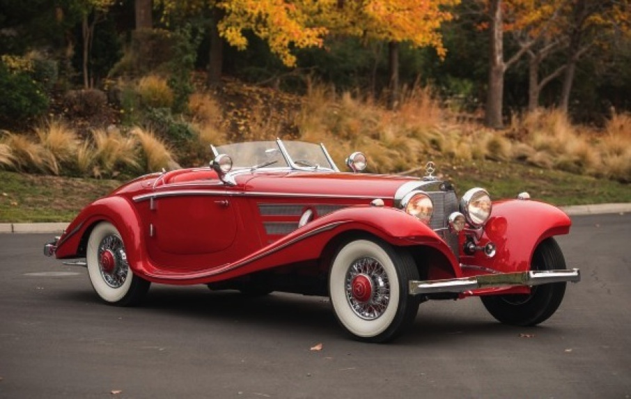 Mercedes-Benz 540 K Special Roadster