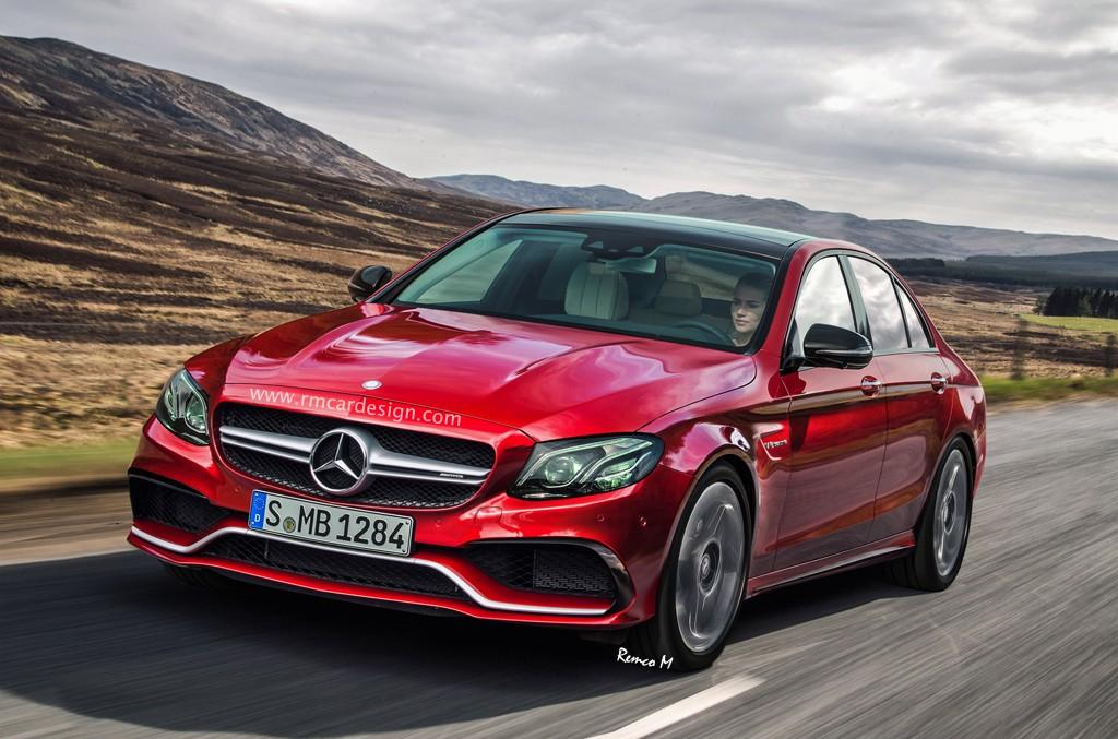 Acesta este! Mercedes-AMG E 63 2017 în simulări digitale