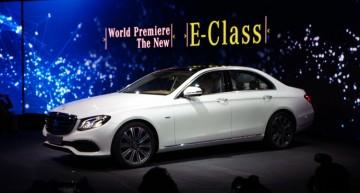 Live de la Detroit: noul Mercedes-Benz E-Class în centrul atenției!