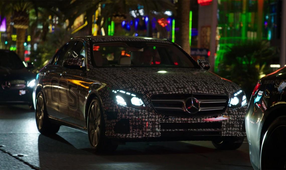 De-a v-ați ascunselea cu noul Mercedes-Benz E-Class