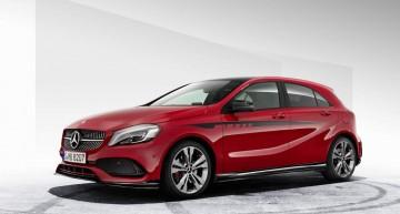 Un A-Class mai sportiv – Compacta de la Mercedes primește un body kit AMG