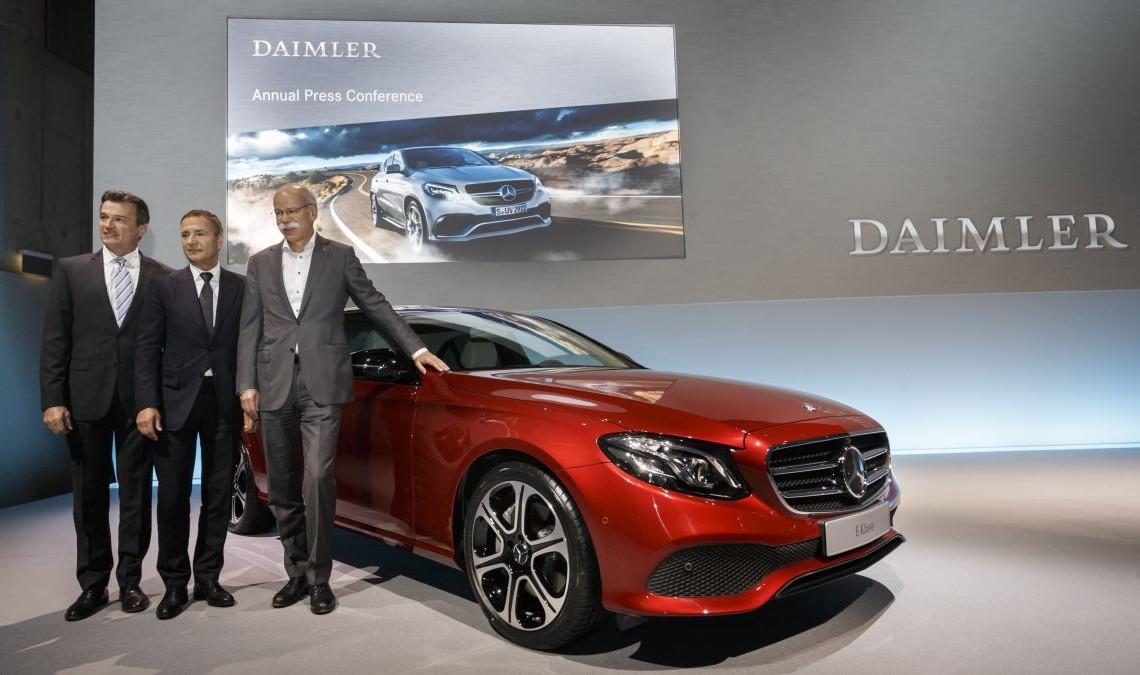 Rezultate financiare Daimler în 2015: vânzări, profit și câștiguri record