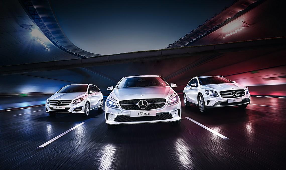 Stelele întâlnesc stele în campania Mercedes-Benz pentru Euro 2016