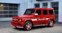 Mercedes-AMG G63 RED – Această mașină e în flăcări