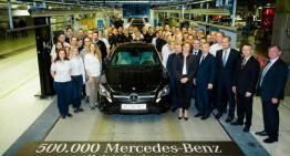 Uzina Mercedes-Benz din Ungaria sărbătorește mașina cu numărul 500.000