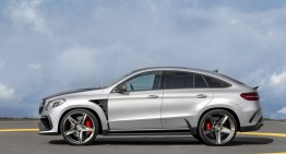 Mercedes-Benz GLE Coupe Inferno – Fugit din infern