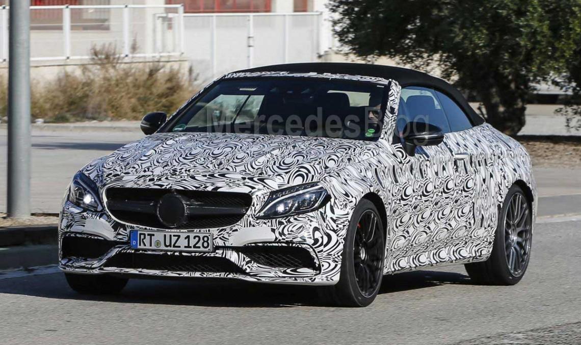 Mercedes-AMG C 63 Cabriolet 2017 se îndreaptă spre New York