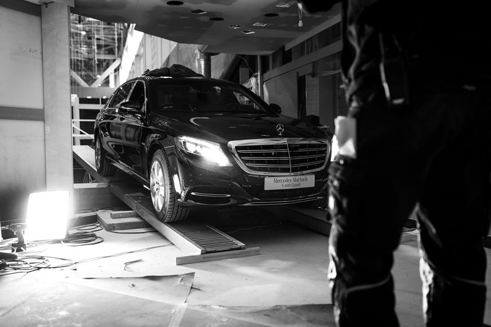 Livrare specială: Mercedes-Maybach S 600 Guard a ajuns la Geneva