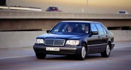 25 de ani de Mercedes S-Class W140