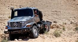 Regele camioanelor: Mercedes Zetros 3643 AS 6×6