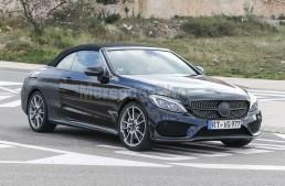 Mercedes C-Class Cabrio spionat pentru ultima oară înainte de a ajunge la Geneva