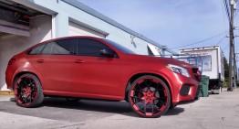 Vedetă în clipurile hip-hop – Mercedes GLE 450 AMG Coupe de la Tate Design