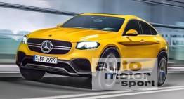 Mercedes GLC Coupe 2017 spionat din nou