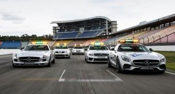 Legendele Formulei 1. Cele mai tari Safety Car-uri Mercedes testate de Auto motor und sport