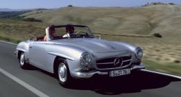 Iată vine debutantul – Mercedes-Benz 190 SL va concura în premieră la Mille Miglia