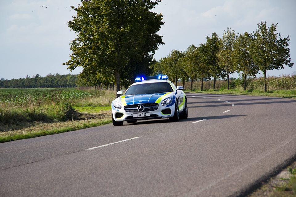 Mercedes-AMG GT, mașină de poliție în Germania