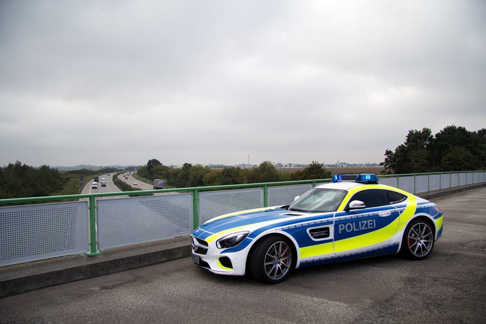 AMG GT masina de politie